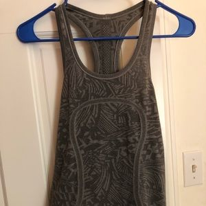 Gray LuluLemon Swiftly Tech Racerback